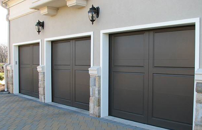 Cellular PVC Garage Door